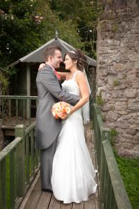 The Three Salmons hotel, Usk wedding photography