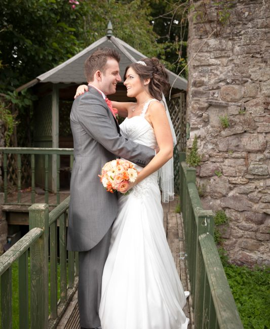 The Three Salmons hotel, Usk wedding photography