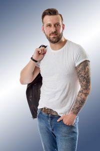 studio photography male
